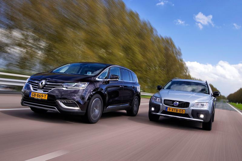 Dubbeltest - Renault Espace vs Volvo XC70