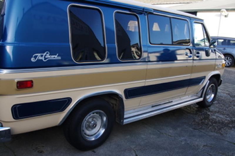 Chevrolet G20 5.0V8 (1984)