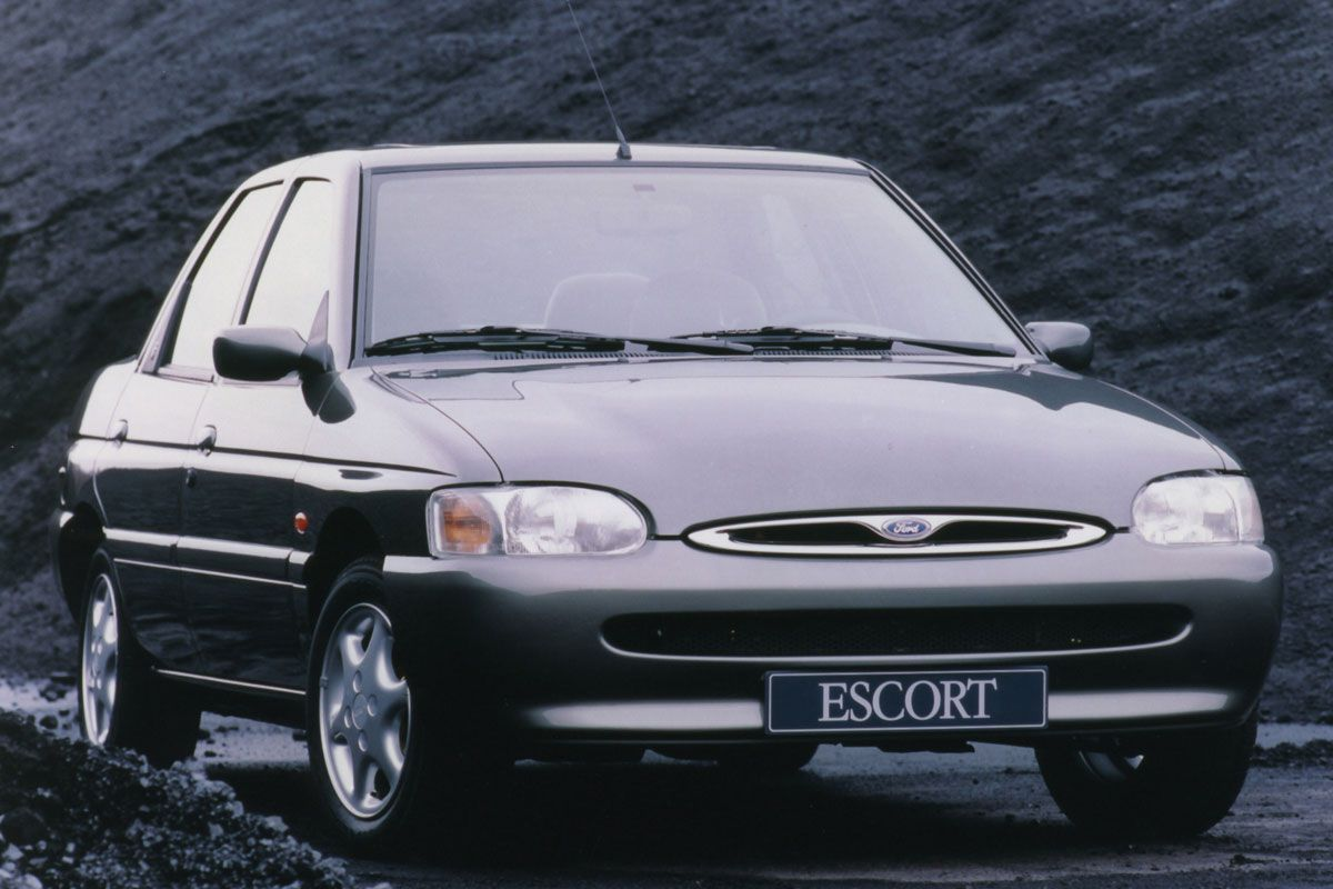 Ford Escort facelift friday