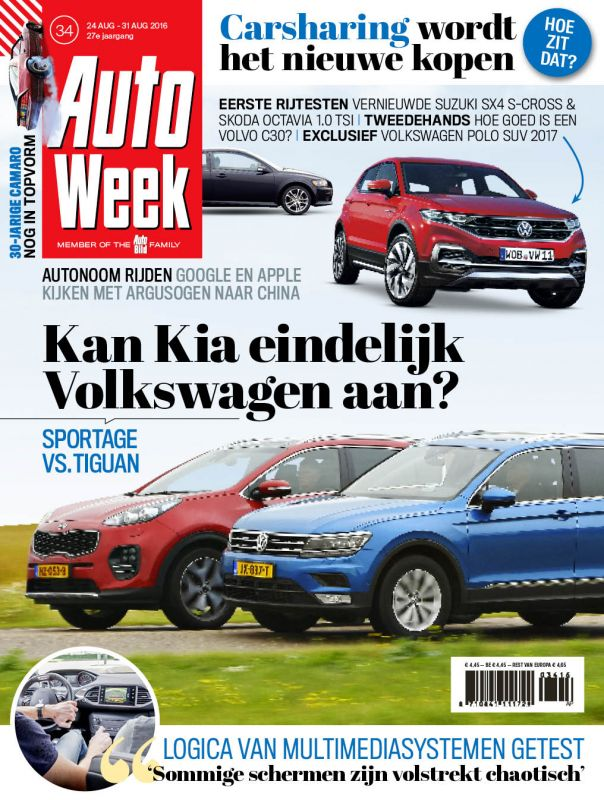 AutoWeek 34 2016