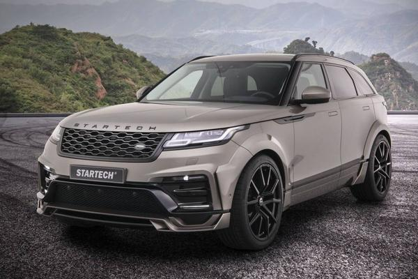 Range Rover Velar volgens Startech