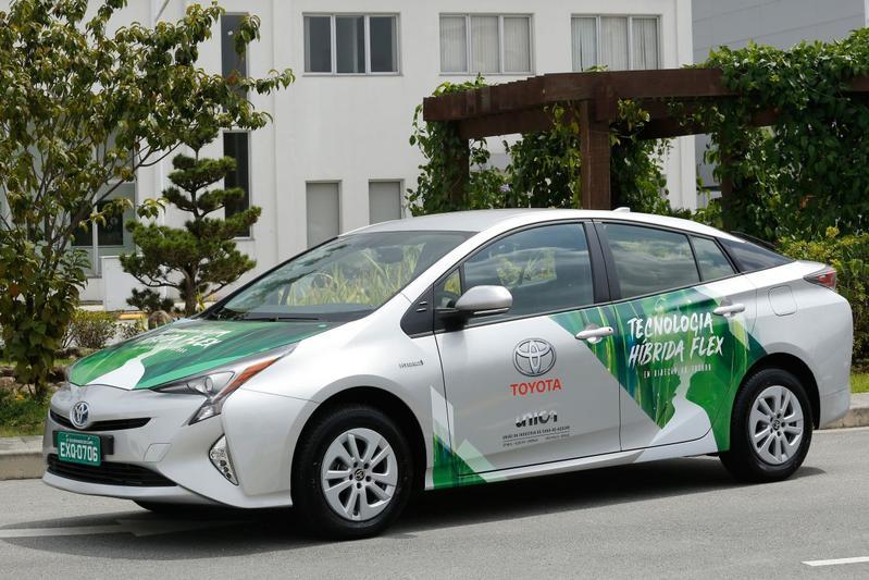 Toyota Prius FFV Ethanol Brazilië