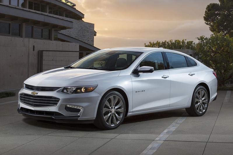Nieuwe Chevrolet Malibu ook als hybride