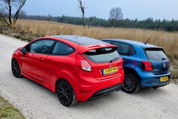 Volkswagen Polo BlueGT - Ford Fiesta Red Edition
