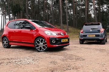 Volkswagen Up GTI vs Renault Twingo GT - Dubbeltest