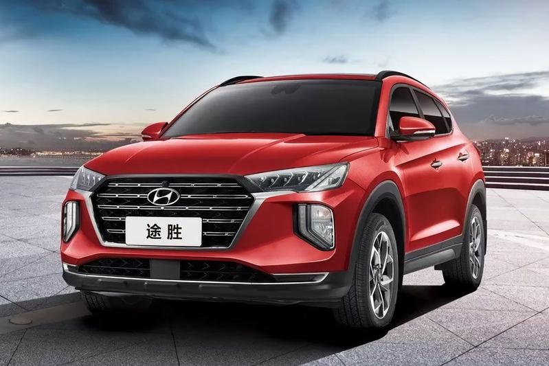 Hyundai Tucson China Facelift 2020