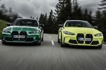 BMW M3 en M4 samen los