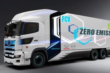 Toyota presenteert vrachtauto op waterstof