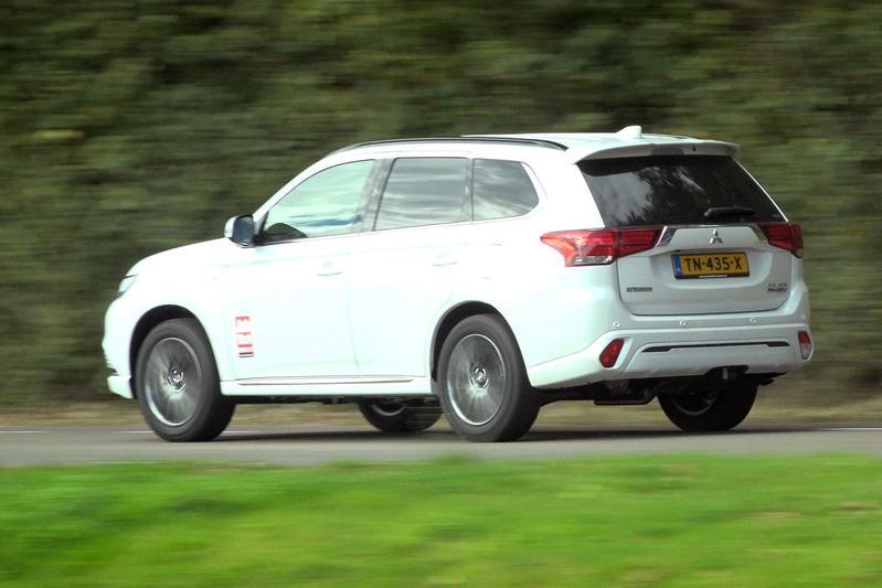 Mitsubishi Outlander PHEV - Welkom duurtest