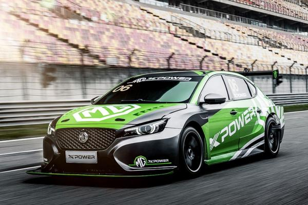 MG presenteert 6 Xpower TCR