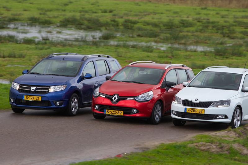Renault Clio Estate - Dacia Logan MCV - Skoda Fabia Combi
