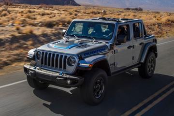 Plug-in hybride Jeep Wrangler 4xe in meer versies beschikbaar