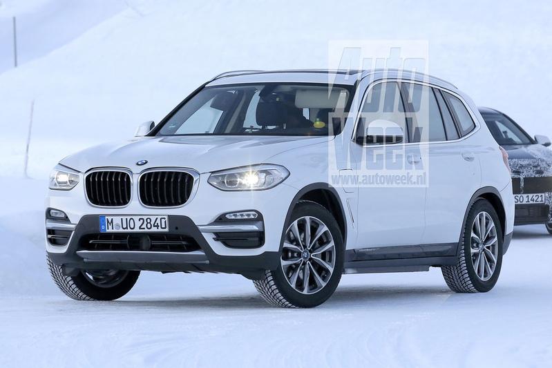 Gesnapt: elektrische BMW X3 klaar voor 2020