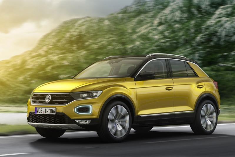 Hier is de Volkswagen T-Roc