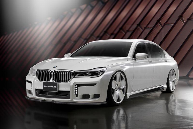 Wald International doet BMW 7-serie en Lexus LS