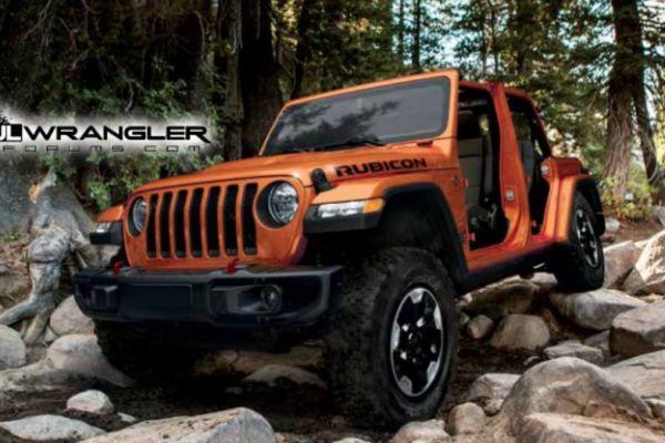 Nieuwe Jeep Wrangler verschijnt in papiervorm