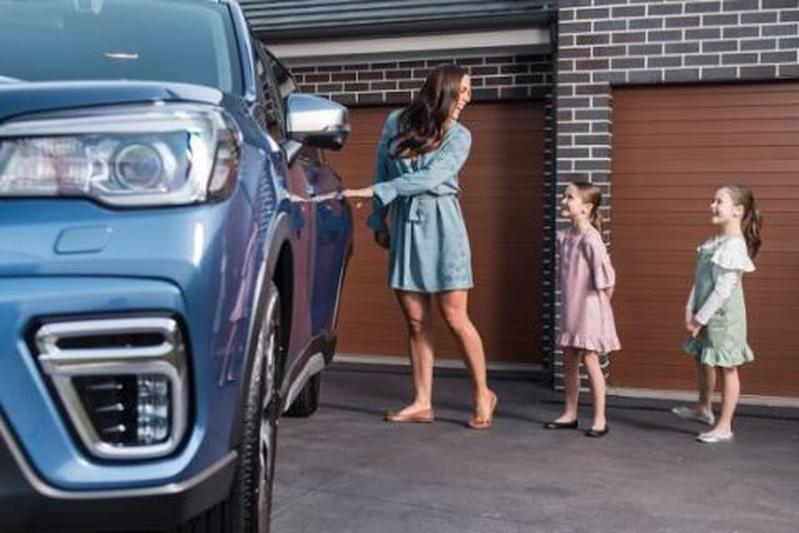 Subaru Forester Rear Seat Reminder