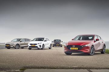 Mazda 3 - Ford Focus - Kia Ceed - Opel Astra - Multitest