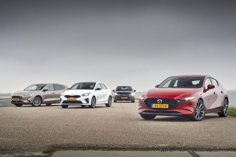 Mazda 3 - Ford Focus - Kia Ceed - Opel Astra - Multitest