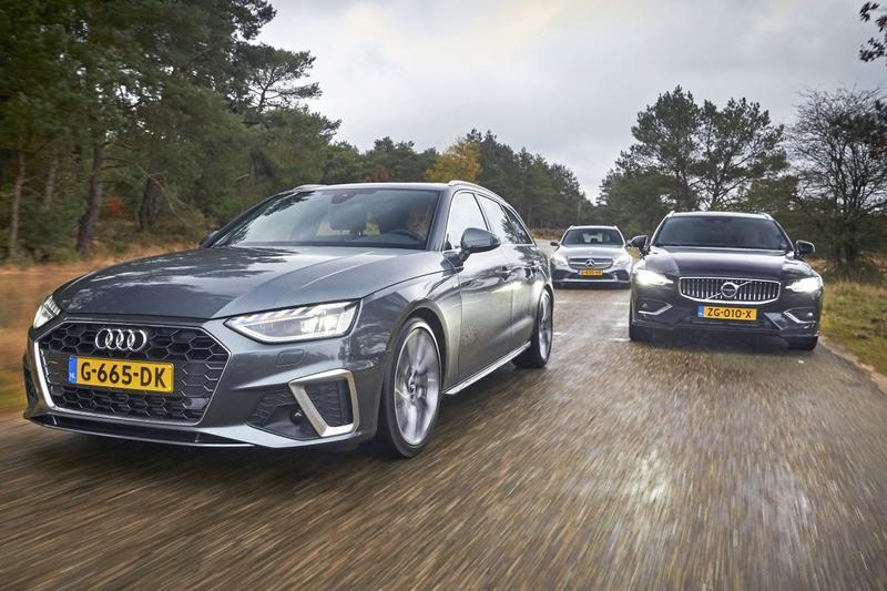 Audi A4 Avant - Mercedes C-klasse Estate - Volvo V60 - Triotest