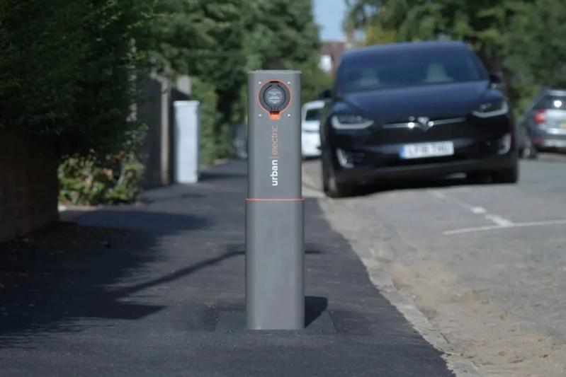 Pop-up laadpaal Urban Electric