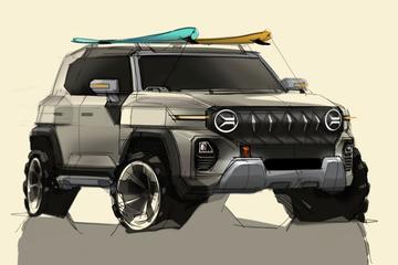 SsangYong blikt vooruit op nieuwe SUV