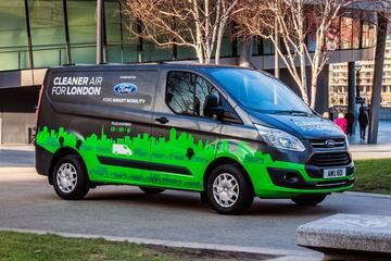 Ford belicht Transit Custom Plug-in Hybrid