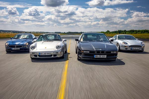 Maserati vs. Porsche vs. BMW vs. Aston Martin
