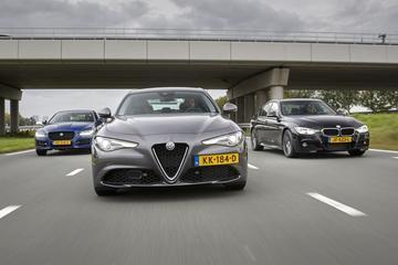 Alfa Romeo Giulia - Jaguar XE - BMW 3-serie