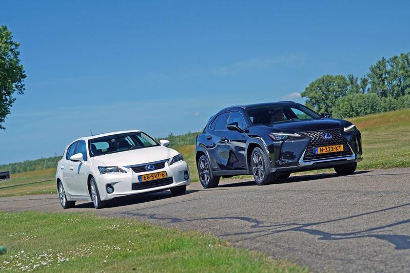 Lexus CT200h Hybrid – Lexus UX 250h Hybrid - Oud & Nieuw