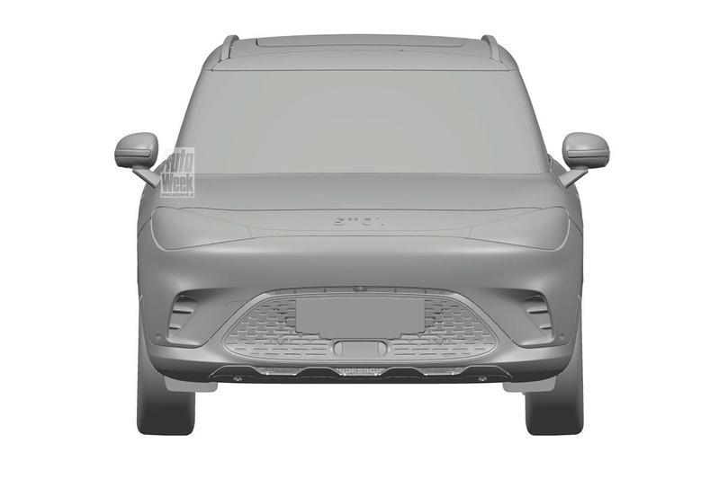Smart elektrische SUV patent