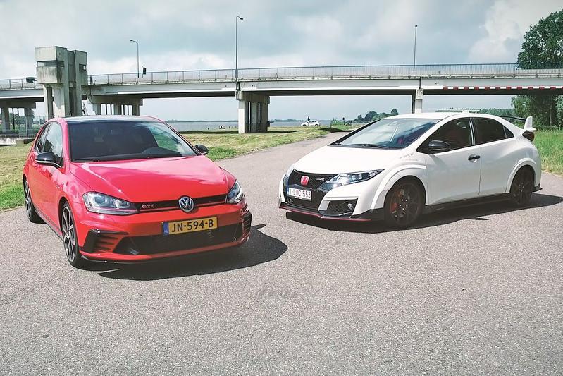 Honda Civic Type R vs. Volkswagen Golf GTI Clubsport