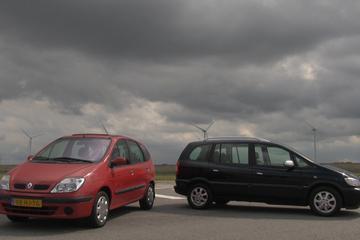 Occasion-dubbeltest - Opel Zafira vs. Renault Scénic