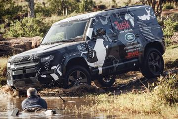 Land Rover stuurt Defender alvast naar Kenia