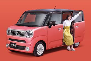 Suzuki Wagon R Smile: kleintje met schuifdeur