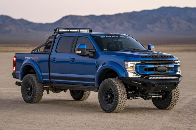 Shelby F-250 Super Baja is heftige Ford F-250