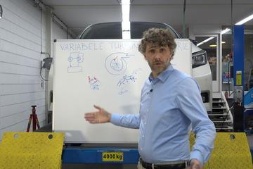 Turbo met variabele geometrie - Cornelis schetst