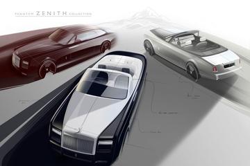 Rolls-Royce zwaait Phantom-varianten uit