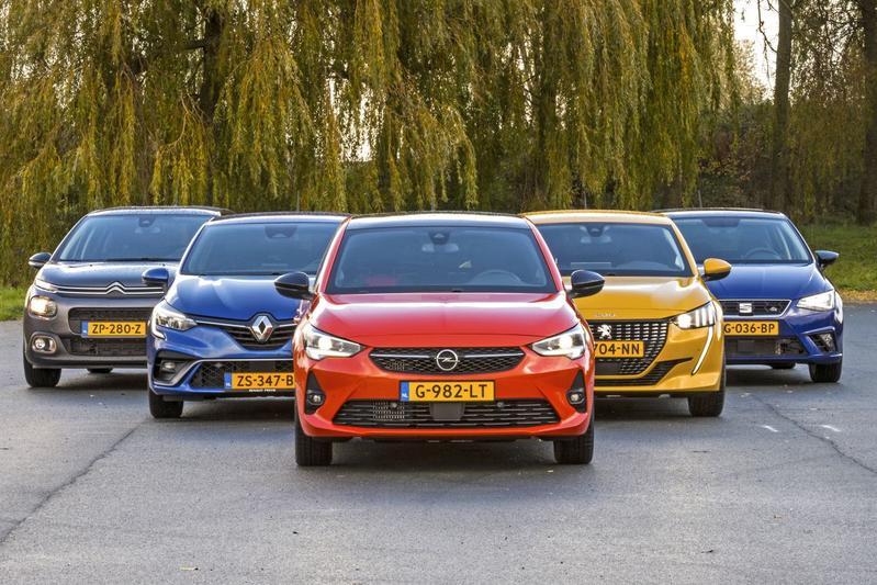 Opel Corsa - Peugeot 208 - Renault Clio - Seat Ibiza - Citroën C3 - Multitest