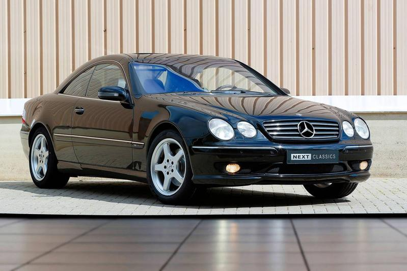 Mercedes-Benz CL 500 (2002)