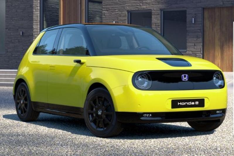 Honda E configurtator