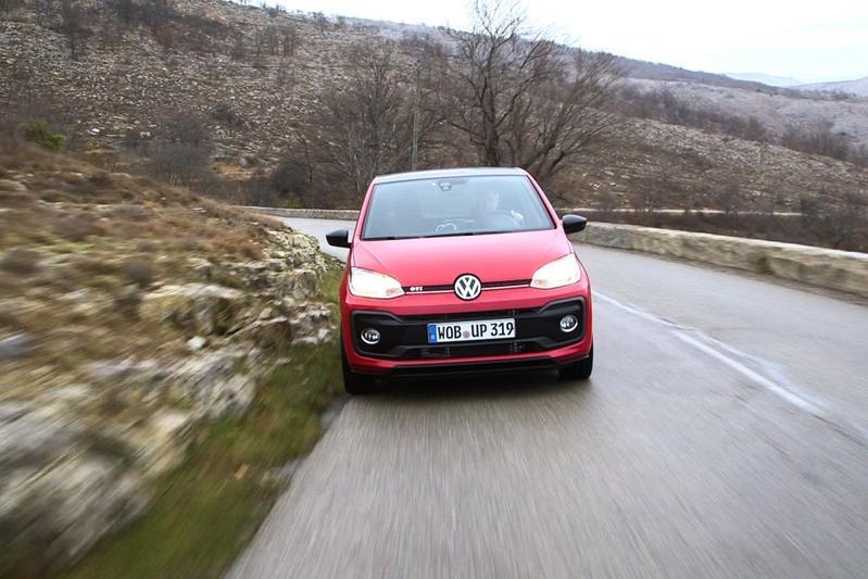 Volkswagen Up GTI - Rij-impressie