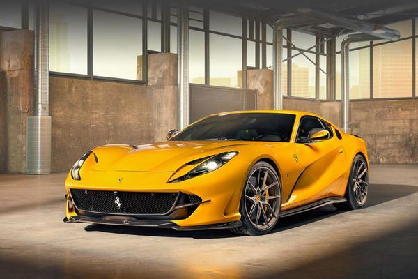 Ferrari 812 Superfast volgens Novitec