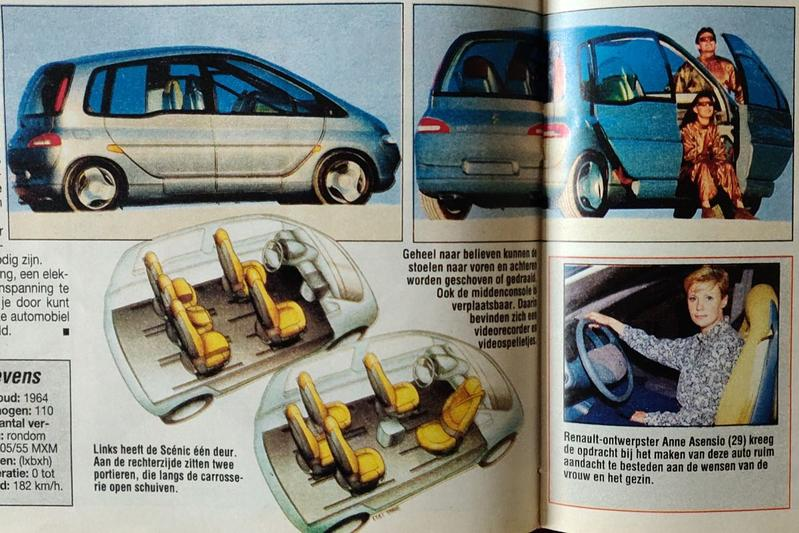Renault Scenic 1991 preview