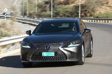 Lexus LS 500h - Rij-impressie