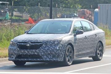 Nieuwe Subaru Legacy beter in beeld