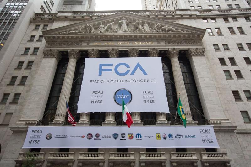 Fiat Chrysler Automobiles heeft tegenwind in VS