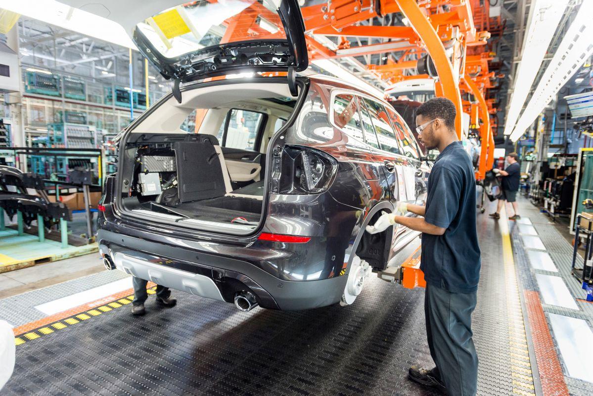 Bmw S Grootste Fabriek Spartanburg Vs Autoweek Nl