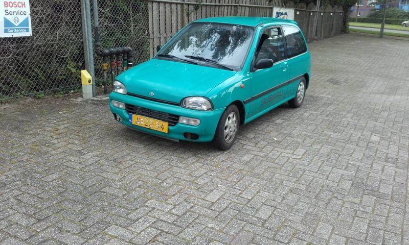 Subaru Vivio GLi AWD (1994)