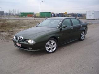 Alfa Romeo 166 2.5 V6 24V Distinctive (2002)